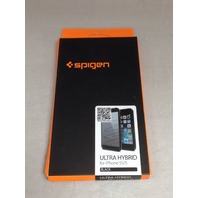 Spigen® iPhone 5 5S Case, ULTRA HYBRID Series [Black]