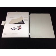 Apple iPad Smart Cover, Leather,Cream