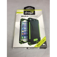 Ifrogz Bullfrogz Hard Cover Case For iPod Touch 5th Generation Black/Green