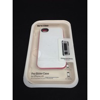 Incase Cl59890 Slider For iPhone 4/4s - White/Raspberry