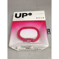 Jawbone Up24 Large Wristband For Phones - Retail Packaging - Pink Coral