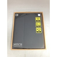 Echo Creative - Lettre X -  iPad Case - (Black) ELE2B2BK002
