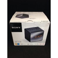 Sony ICFC1T Alarm Clock Radio, Black (ICF-C1T)
