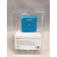 Sony SRS-X11 Ultra-Portable Bluetooth Speaker (Blue)