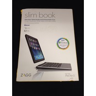 ZAGG Slim Case with Detachable Backlit Keyboard for iPad Air 2 - Blk ID6ZF2-BBA