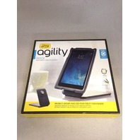 OtterBox Tablet Dock - OtterBox AGILITY Dock, CHARCOAL (CHARCOAL/BLACK)