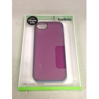 Belkin Grip Candy Sheer Case For New Apple iPhone 5 5s SE (Purple / Blue)