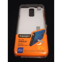 Spigen Slim Armor Case for Galaxy Note 4 - Shimmery White NEW - NO Kickstand