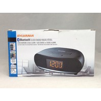 Sylvania bluetooth clock radio