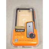 iPhone 6 Plus Case Spigen Neo Hybrid ex ALUMINUM BUMPER - Space Gray SGP11195