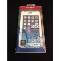 Seidio OBEX Waterproof Case for the iPhone 6 Plus/6s Plus - White/Gray