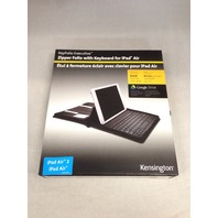 Kensington Keyfolio Executive Zipper Folio Case  Keyboard - ipad air and air 2