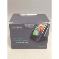 RAVPower Samsung Galaxy S5 Desktop Charger Charging Cradle - White