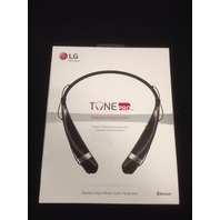 LG Electronics Tone Pro HBS-760 Bluetooth Wireless Stereo Headset - Black
