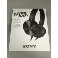 Sony MDR-XB450AP Extra Bass Headset - Black