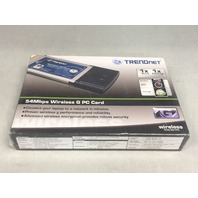 TRENDnet 54Mbps Wireless G PC Card TEW-421PC