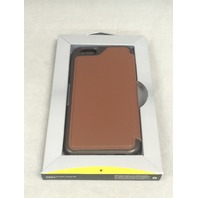OtterBox STRADA SERIES Leather Wallet Case for iPhone 6/6s - SADDLE (BROWN)