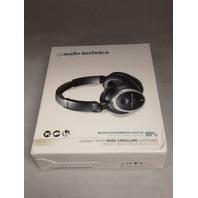 Audio-Technica ATH-ANC7b Quietpoint Active Noise-Cancelling Headphones - Black