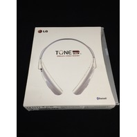 LG Electronics Tone Pro Bluetooth Stereo Headset - White HBS-750