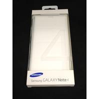 Samsung EFWN910BWEGCA Flip Wallet Note 4 White