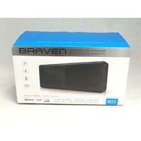 BRAVEN 805 Portable Wireless Bluetooth Speaker [18 Hours Playtime] - Black/Black