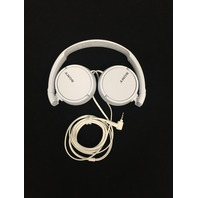 Sony MDR-ZX110 Series Stereo Headphones (White)