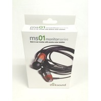 Thinksound Ms01 In-Ear Monitor With Passive Noise Isolation (Gunmetal/Chocolate)