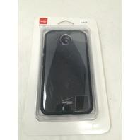 Motorola Moto X (2nd Generation) Clear Shell with TPU Edge - Black