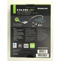 IOGEAR HUB-C - USB-C to 4-port USB-A Hub (GUH3C14)
