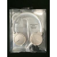 Sony MDRZX660APC Step up overhead Headphones - Ivory