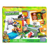 Mega Bloks Teenage Mutant Ninja Turtles Half-Shell Heroes Turtle Lair Battle