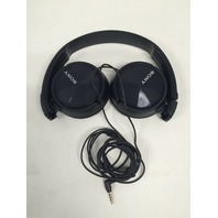 Sony Headphones MDR-ZX310AP with Mic - Black