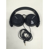 Sony Headphones MDR-ZX310WQ with Mic - White