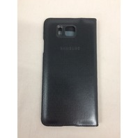 Galaxy Alpha S-View Cover Original Samsung Folio Case EF-CG850B Black
