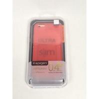 Spigen Air Skin iPhone 6 6s Case with Semi-transparent Lightweight - Azalea Pink