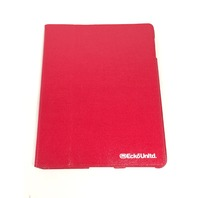 ECKO iPad 2 Shiny Canvas Case - Red (EKU-SCNVS2-RD)