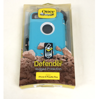 OtterBox DEFENDER iPhone 6/6s PLUS Case - SEACREST (WHISPER WHITE/LIGHT TEAL)