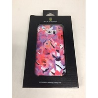 Milk & Honey Abstract Floral Cover for Samsung Galaxy S6