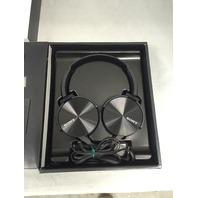 Sony MDR-XB450AP Extra Bass Headset - Black
