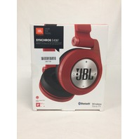 JBL E40BTRED Synchros sealed on-ear Bluetooth wireless Headphones (Red)