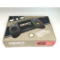 NES & SNES Retroduo Portable Handheld Console V2.0 Core Edition Black - READ