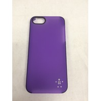 Belkin Shield Sheer Matte For iPhone 5 5s SE - Purple