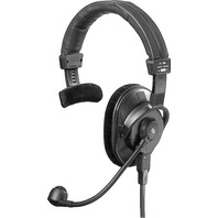 Beyerdynamic DT-280-V11-MKII-200-8 Single-Ear Headset with Mic Pre-Amp, 80 Ohms