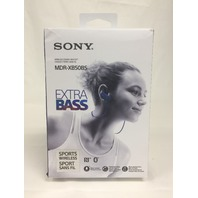 Sony MDR-XB50BS/L Wireless, In-Ear, Sports Headphone, Blue