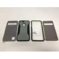 SaharaCase iPhone 7 PLUS Case, Tempered Glass, Anti-Slip Grip, Black Gray