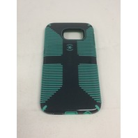 Speck CandyShell Grip Case for Samsung Galaxy S6 Edge - Grey/Dragon Green