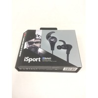 Monster iSport Bluetooth Wireless In-Ear Headphones- Black