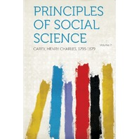 Principles Of Social Science Volume 2 (Spanish Edition)