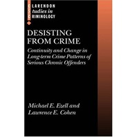 Desisting From Crime: Continuity and Change In Long-Term Crime Patterns