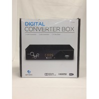 Ematic Digital TV Converter Box with Recording, Playback, & Parental Controls